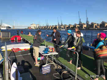After-Work-Swim in London: Britannia, rule the waves! - swim.de