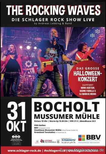 The Rocking Waves: Die Schlager Rock Show, Live Musik mit Andreas Lebbing & Band - Lokalkompass.de