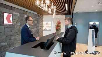 Mehr Platz für Beratung in der Alpnacher OKB-Filiale | Luzerner Zeitung - Luzerner Zeitung