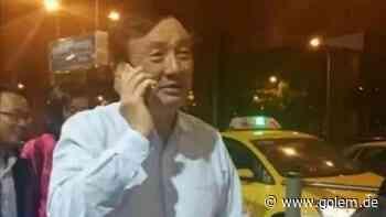 Huawei-Gründer Ren Zhengfei: Der Milliardär, der im Regen auf ein Taxi wartet - Golem.de - Golem.de