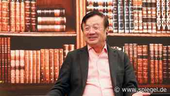 Wirtschaftskrieg mit den USA: Der Spott des Huawei-Patriarchen - SPIEGEL ONLINE
