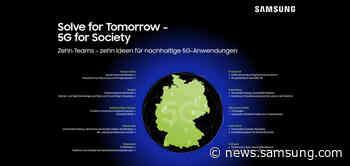 Solve for Tomorrow: Samsung begleitet junge Gründer von der Idee zum potenziellen 5G-Geschäftsmodell - Samsung Newsroom Deutschland