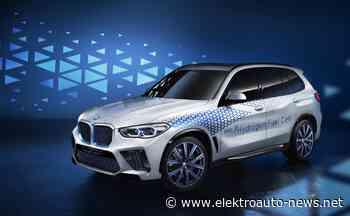 Wasserstoffauto BMW i Hydrogen NEXT auf der IAA - Elektroauto-News.net