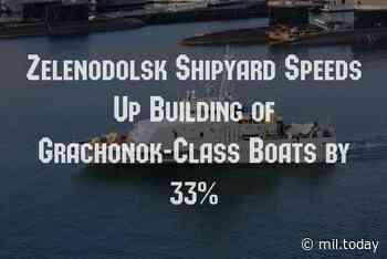 Important Zelenodolsk Shipyard Speeds Up Building of Grachonok-Class Boats by 33% - http://mil.today/