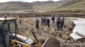 Puno: Desborde de río afecta captación de agua que abastece a Ayaviri - LaRepública.pe