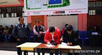 Pronied entregó terreno para la ejecución de colegio en Ayaviri - Diario Correo