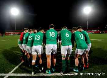 Ticket Update | Ireland U20s, Kings In Cork & Scarlets At Thomond - Munster Rugby