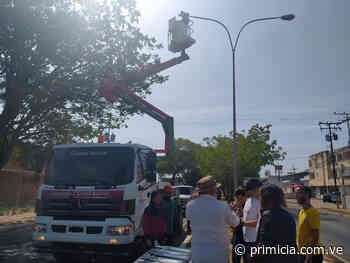Continúa recuperación de la avenida Jesús Soto en Ciudad Bolívar - primicia.com.ve