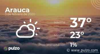 El clima para hoy en Arauca, 3 de febrero de 2020 - Pulzo