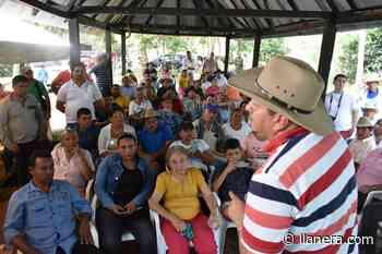 Alcalde de Arauca participó de encuentro con 17 veredas - Llanera.com