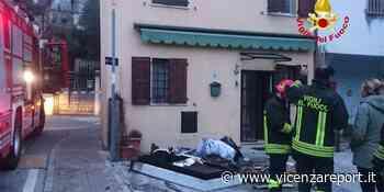 San Vito di Leguzzano, a fuoco una mansarda - Vicenzareport