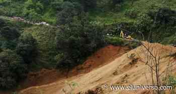 Zonas rurales de Zaruma están afectadas por deslave en vía Salvias-Tambillo - El Universo