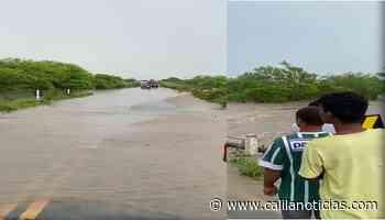 Rio do Peixe transborda e interdita BA 120 entre Santaluz e Queimadas - Calila Notícias