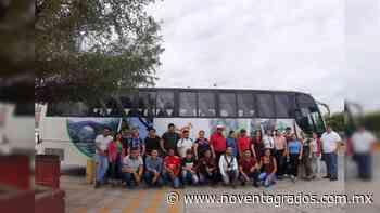 Ayuntamiento de Buenavista adquiere autobús para traslado de alumnos que estudian en Apatzingán y Morelia - Noventa Grados