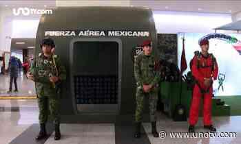"""Inauguran la exposición militar """"La gran fuerza de México"""" en Buenavista - Uno TV Noticias"""