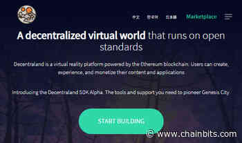Decentraland (MANA) Review: Play on the Virtual Blockchain - ChainBits
