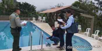 Hacen inspección de piscinas en Sandoná - Diario del Sur