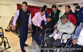 DIF Coahuila lleva apoyos a los adultos de Matamoros - Noticias del Sol de la Laguna