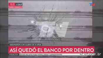 VIDEO: Así quedó el banco de Isidro Casanova - TN - Todo Noticias