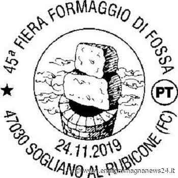 Sogliano al Rubicone: speciale annullo postale per la 45ª Fiera del Formaggio di Fossa - Emilia Romagna News 24