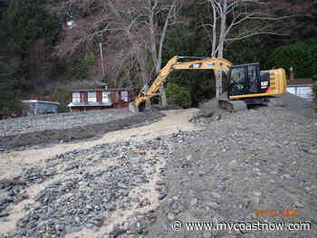 Excavation Continues to Relieve Flooding Along Roberts Creek - mycoastnow.com