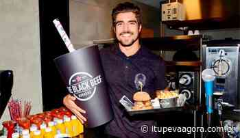 Caio Castro vai inaugurar hamburgueria em Jundiai - Itupeva Agora