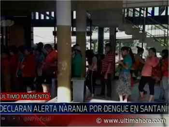 Alerta naranja por masivos casos de dengue en San Estanislao - ÚltimaHora.com
