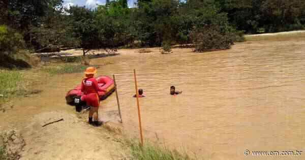 Bombeiros encontram corpo de criança arrastada por correnteza em cachoeira de Esmeraldas - Estado de Minas