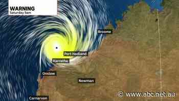 Cyclone Damien heading towards Karratha - ABC News