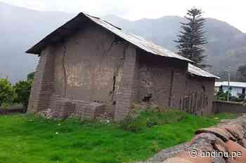 Áncash: 13 viviendas quedan inhabitables por fenómeno de reptación en Pomabamba - Agencia Andina