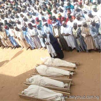 Potiskum buries 4 Emir's aides killed by gunmen - Daily Trust