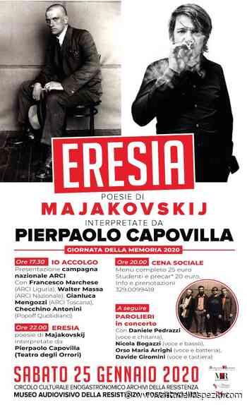 Pierpaolo Capovilla legge Majakovskij a Fosdinovo - Città della Spezia