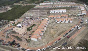 Entregarán totalidad de casas en el casco urbano de Gramalote en 2020 - La Opinión Cúcuta