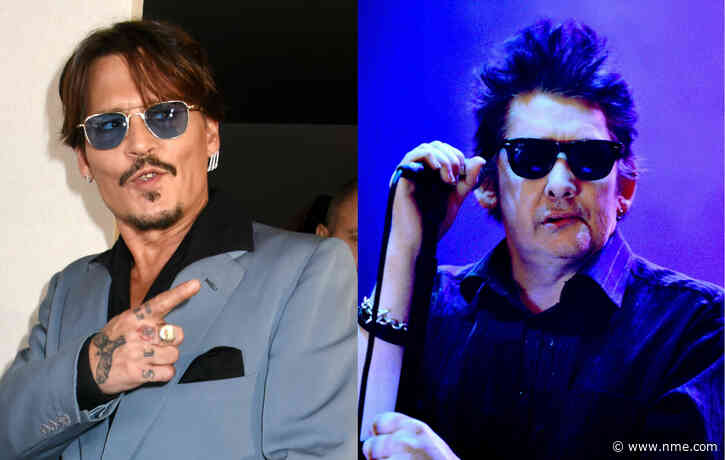Johnny Depp enlisted to co-produce Shane MacGowan documentary film