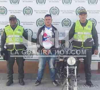 En persecución lo arrestan porque habría participado en un hurto en Maicao - La Guajira Hoy.com