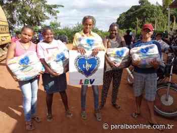 Natal Permanente: LBV mobiliza Região da Borborema em prol de famílias pobres • Paraíba Online - Paraíba Online