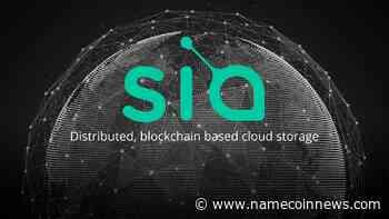 Siacoin News | Latest News on Siacoin (SC) - NameCoinNews