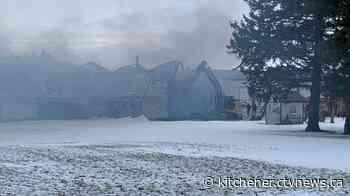 Barn fire near Milverton under investigation | CTV News - CTV News
