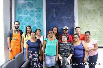 Pescadores de Aracati, Acaraú e Itapipoca participam de oficina na Escola de Gastronomia Social - Ceará