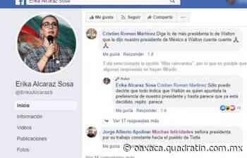 Walton, favorito de López Obrador: alcaldesa de Tixtla, Guerrero - Quadratín Oaxaca