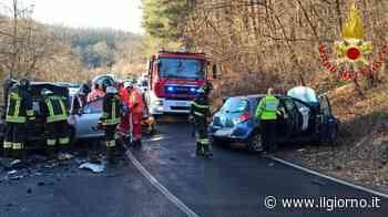Alzate Brianza, frontale tra auto: due feriti - IL GIORNO