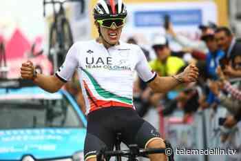 Daniel Arroyave, Campeón Nacional de Ruta Sub 23 en Tunja - telemedellin.tv