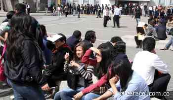 Tunja sigue 'rajándose' por cuenta del desempleo - Caracol Radio