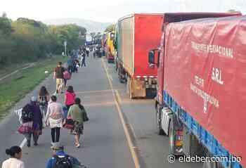 Apicultores levantan bloqueo en Villamontes que impedía paso a Argentina - EL DEBER