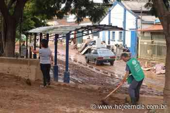 Raposos, Santa Luzia e Ibirité ainda trabalham para resolver problemas provocados pelas chuvas - Hoje em Dia