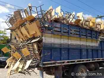 2 Mil pupitres recibe el Departamento de Santa Bárbara - canal6.com.hn