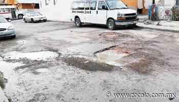 Lluvias afectan vialidades en colonia Vista Hermosa [Piedras Negras] - 04/02/2020 - Periódico Zócalo