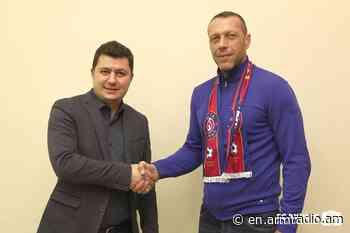 Roman Berezovsky appointed head coach of FC Pyunik - Public Radio of Armenia