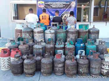 Decomisan cilindros de gas en Ciudad Bolívar - primicia.com.ve