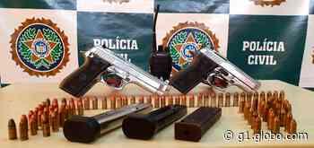 Polícia prende miliciano com pistolas e munição em Del Castilho, no Rio - G1